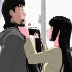 毎年初詣を一緒に過ごしている許嫁のお姉さんは黒髪の綺麗な女性。俺は毎年髪 コキしてもらいたいとお願いしている。すると…