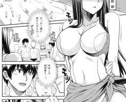【エロ漫画】海水浴場で女漁りをしていた地元のゲスに捕まってしまった天然純 真な女の子が…!【オリジナル】