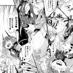 【ふたなり漫画】正義のヒロインが敵の女幹部を聖なるチンポで徹底的に成敗w ww