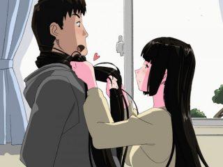 【エロ漫画】アリサ姉と初詣帰りにボックスでオチンポを髪コキしてもらって興 奮!柔道の得意な姉の和服を押し倒して犯す