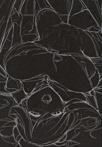 【エロ同人 FGO】森をさまよっていたマスターを宮本武蔵とマシュ・キリ エライトが助けて青姦3Pセックスしてるよww【無料 エロ漫画】