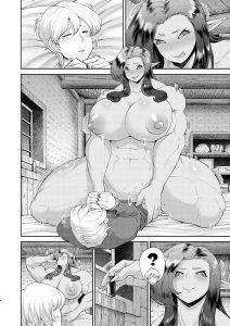 【エロ同人誌】モンスター娘と人間の男とのセリフ無しの異種姦セックス漫画集 。【無料 エロ漫画】