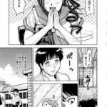 【エロ漫画】ふとしたことから憧れの巨乳JKがセーラー服のまま父親のチ ンポをフェラしているのを目撃してしまった少年。【無料 エロ同人】